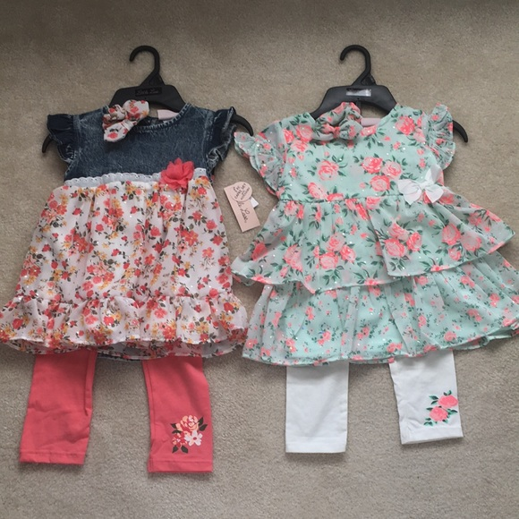 NWT 2 - Little lass outfits size 6